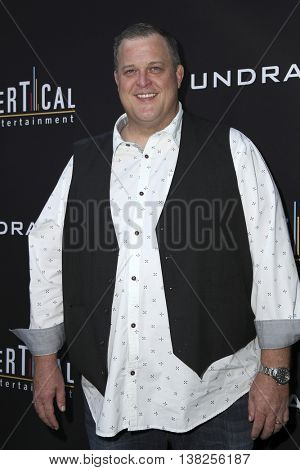 LOS ANGELES - JUL 11:  Billy Gardell at the  Undrafted Los Angeles Premiere  at the ArcLight Hollywood on July 11, 2016 in Los Angeles, CA