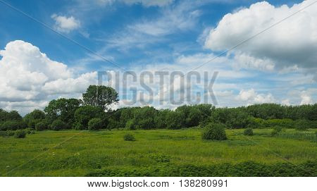 English Country Landscape