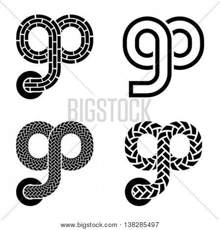 go shoelace infinity eight symbol vector