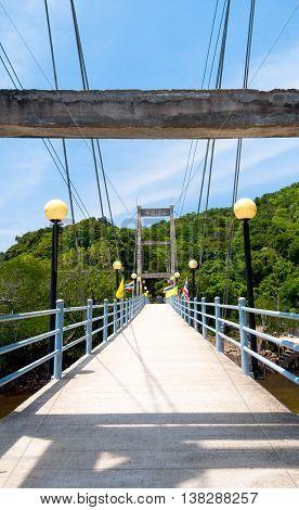 Going Ahead Bridge to Eternity