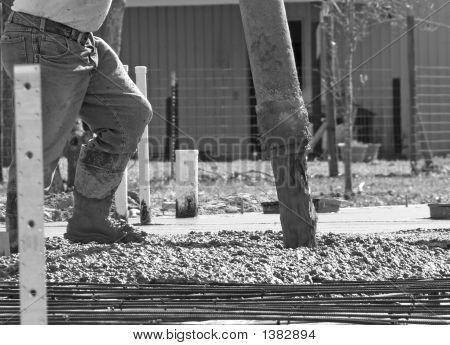 Concrete Work Bw