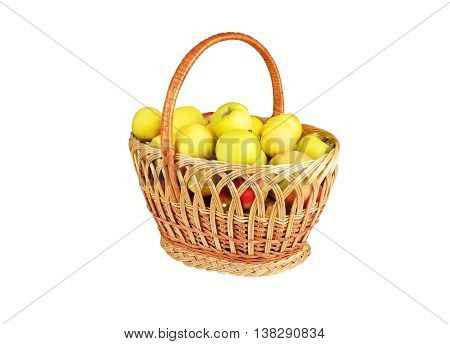 Apple In A Wattled Basket