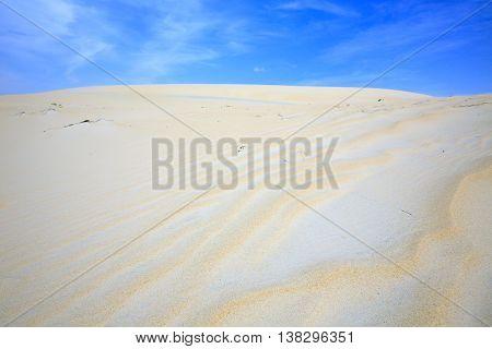 Sand Dunes in Phan Thiet province, Vietnam