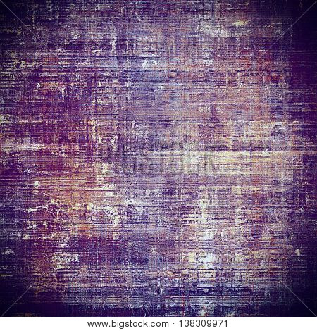 Retro abstract background, vintage grunge texture with different color patterns: yellow (beige); brown; gray; blue; purple (violet); pink