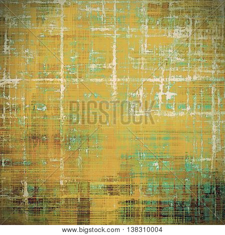 Retro design composition, grunge background or textured backdrop. With different color patterns: yellow (beige); brown; gray; green; blue; cyan