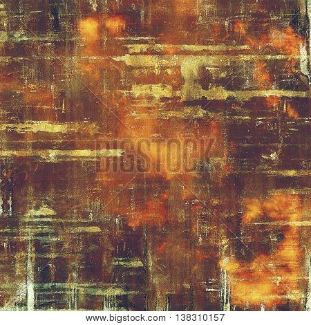 Colorful grunge background, tinted vintage style texture. With different color patterns: yellow (beige); brown; gray; red (orange); purple (violet)