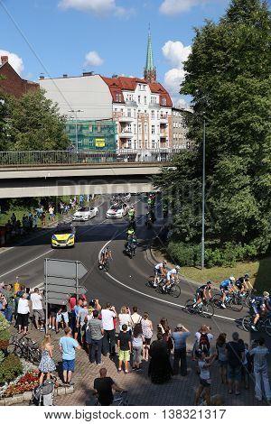 Tour De Pologne Peloton