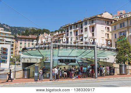 Monte Carlo Railway Station (gare De Monaco), Monaco