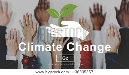 Climate Change Global Warming Environmental Conservation Concept