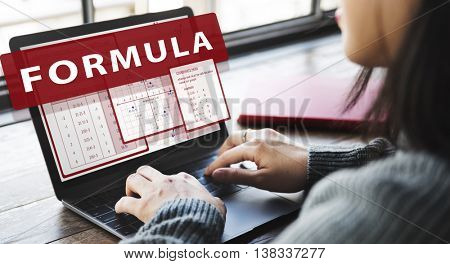 Formula Mathematics Calculation Chart Concept