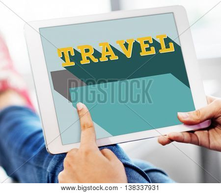Travel Trip Journey Vacation Holiday Concept