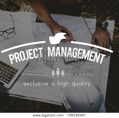 Project Management Business Manager Methods Concept