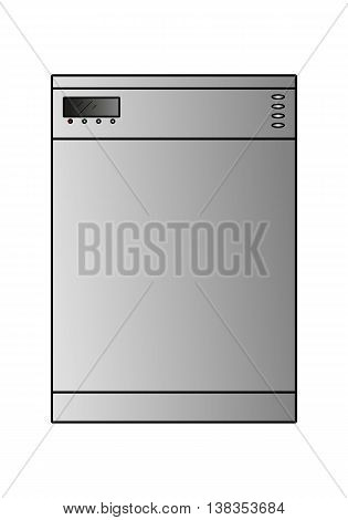 Vector Dishwasher Wide
