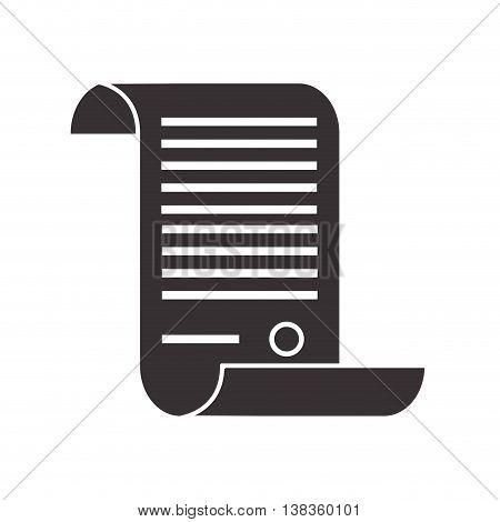 flat design law decree icon vector illustration