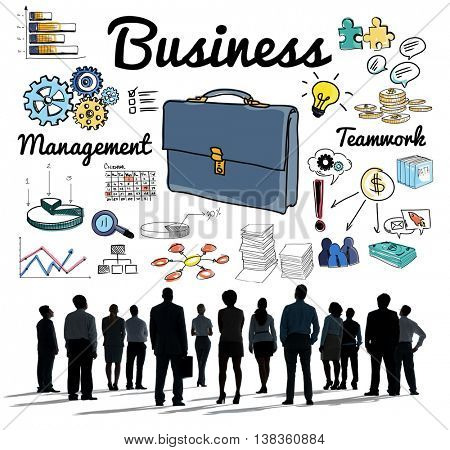 Business Group People Vision Aspirations Concept