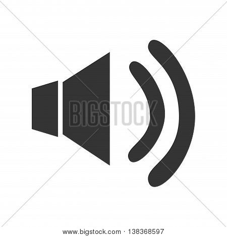 Music and technology icon in black and white , vector illustration graphic design.