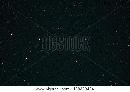 The Stars In The Night Sky.