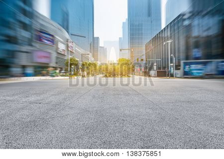 high street of suzhou city