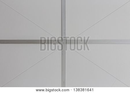 Modern ceiling, beautiful ceiling panel : may be used as background :