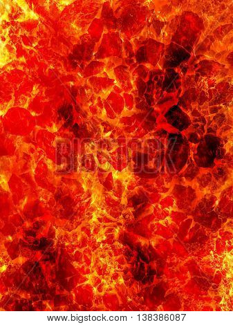 art fire lava abstract pattern illustration background