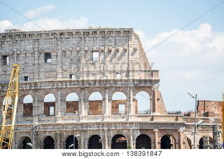 Colosseum - Landmark Of Rome, Italy