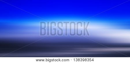 HORIZONTAL VIVID BLUE CLOUDSCAPE DRAMATIC CLOUDS ABSTRACTION BACKGROUND BACKDROP