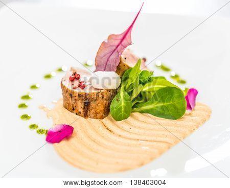 Loin Pork Confit Steak