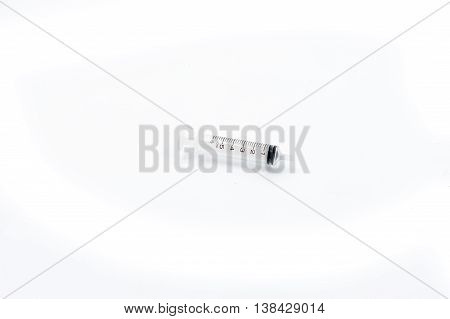 syringe clear isolated on white background, syringe clea.