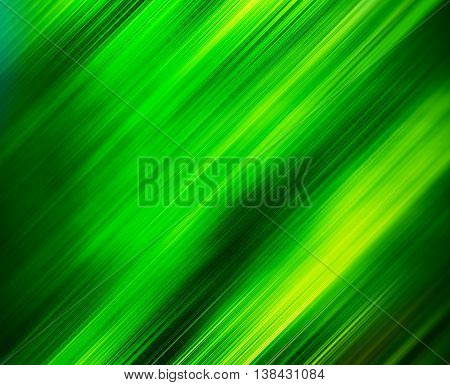 Diagonal Vivid Green Motion Blur Abstraction Background