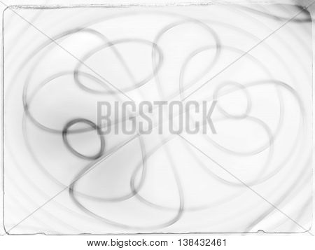 Vintage Black And White Pencil Blur Backdrop Postcard