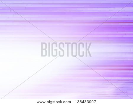 Horizontal Bright Purple Extruded Lines Abstraction With Light L