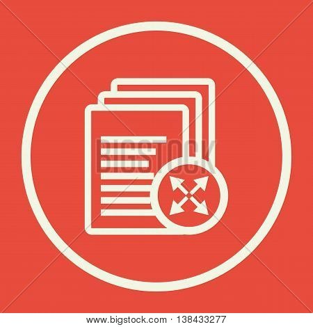 Files Arrows Diagonal Icon In Vector Format. Premium Quality Files Arrows Diagonal Symbol. Web Graph