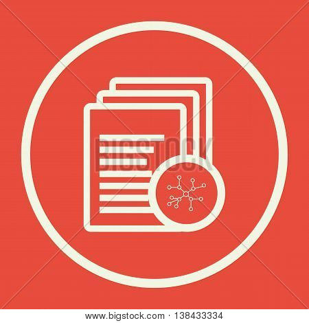 Files Connection Icon In Vector Format. Premium Quality Files Connection Symbol. Web Graphic Files C
