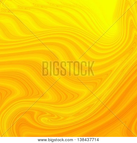 yellow Colored fractal pattern background or texture