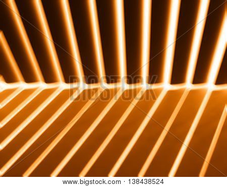 Diagonal Orange Light And Shadow Panels Background