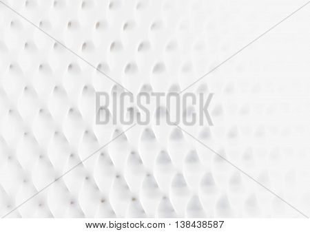 Horizontal Black And White Blob Grid Illustration Background