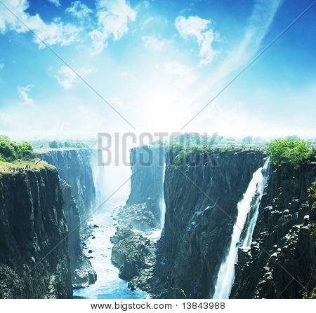 Cascada de Victoria