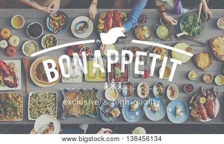 Cuisine Culinary Catering Buffet Meal Concept