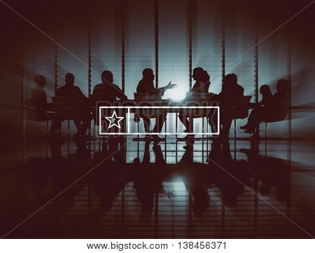 Business Corporate Technology People Graphic Concept