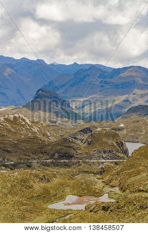 Cajas National Park Cuenca Ecuador
