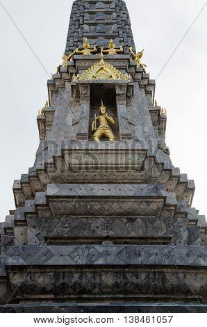 Wat Pho Pagoda In Bangkok