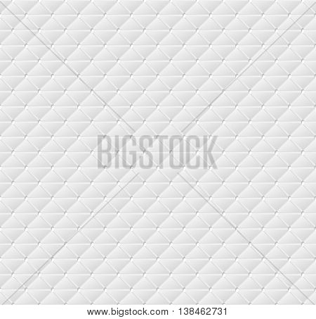 Connected triangles of paper with deformed petals cut on the edges and shadows in the cutout. Seamless vector texture. Seamless pattern. Vector geometric background.