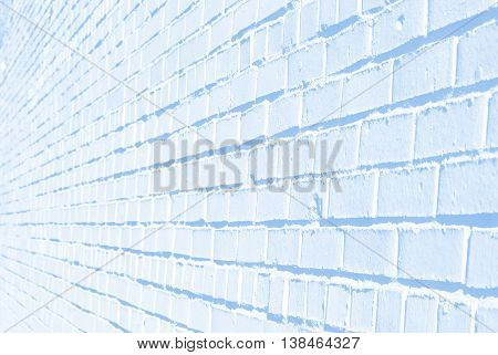 The nice blue brick texture can be used as a background