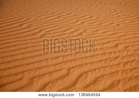 Red sand