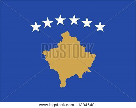 Kosovo National Flag