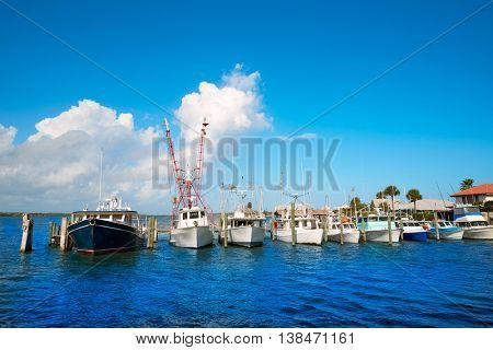 Daytona Beach in Florida from Port Orange marina of USA