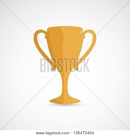 Golden champion cup, prize for the winner
