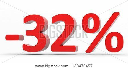 Discount 32 Percent Off Sale.