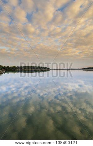 Water and sunset in coastal South Carolina