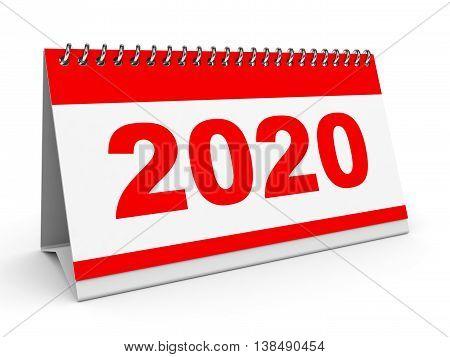 Calendar 2020.